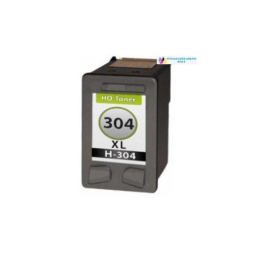 HP 304XL N9K08AE utángyártott tintapatron fekete