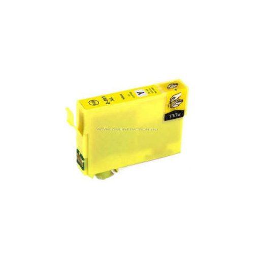 Epson 603XL sárga utángyártott tintapatron (C13T03A44010)
