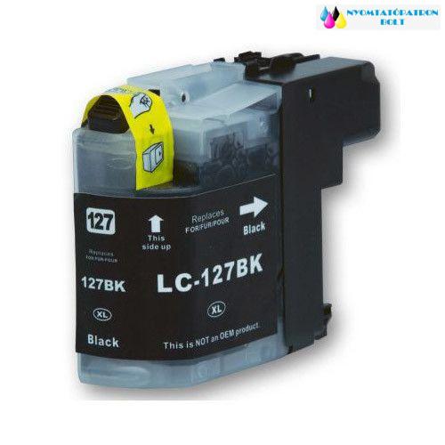 Brother LC127XL BK utángyártott tintapatron