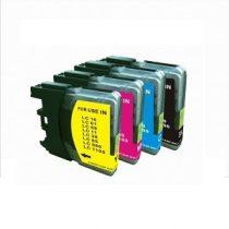 Brother LC985 /LC 980/1100 fekete, kék, sárga, magenta utángyártott tintapatron csomag (4 db-os)