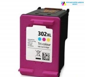 HP 302XL CMY (F6U67AE) utángyártott tintapatron színes