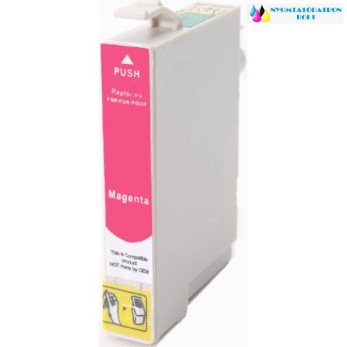 EPSON T0803 Magenta utángyártott tintapatron