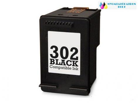 HP 302 (F6U66AE) fekete utángyártott tintapatron