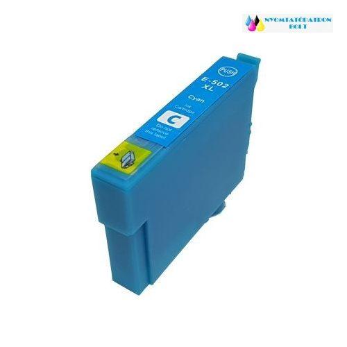 Epson T502XL (C13T02W24010) cyán utángyártott tintapatron