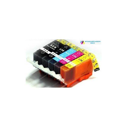 Canon CLI-526 C + chip cyán utángyártott tintapatron