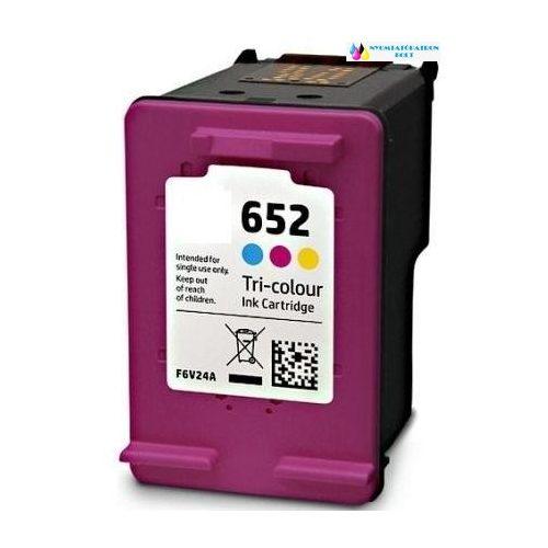 HP 652 utángyártott tintapatron (színes) F6V24AE