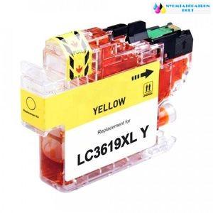 Brother LC 3619 [XL Y] utángyártott tintapatron sárga