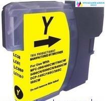 Brother LC/985/LC1100/980Y sárga utángyártott tintapatron