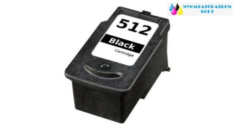 Canon PG-512 (PG512) utángyártott tintapatron fekete