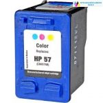 HP 57(6657) utángyártott tintapatron színes nagykapacitású