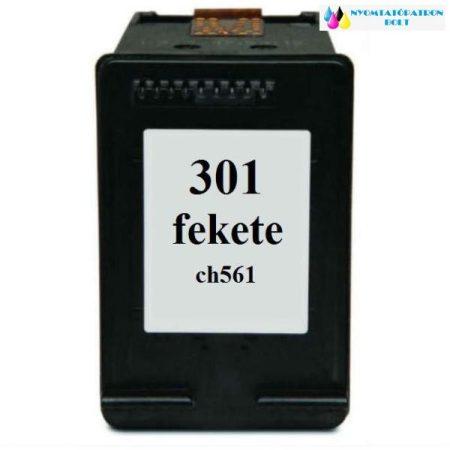 HP 301 (CH561EE) utángyártott tintapatron fekete