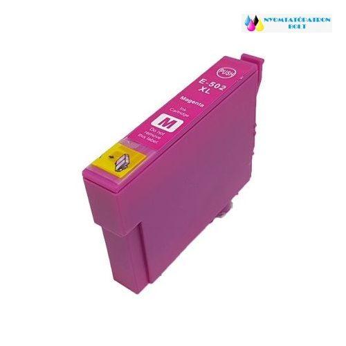Epson T502XL (C13T02W34010) magenta utángyártott tintapatron
