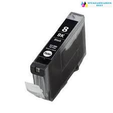 Canon CLI-8/BCI-6 Bk fekete utángyártott tintapatron+chip