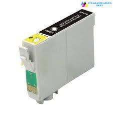 Epson T0711/891 fekete utángyártott tintapatron v6.0 chipes