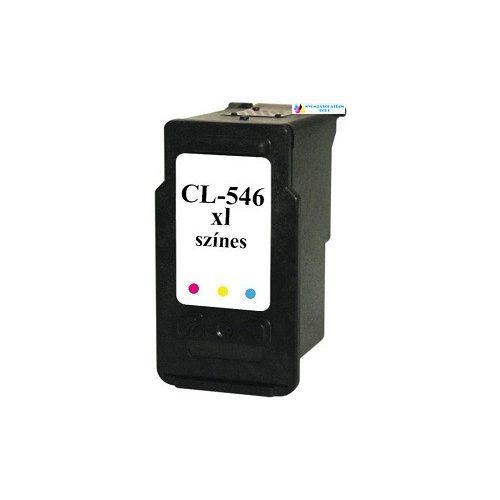 CANON CL-546 XL utángyártott tintapatron színes  nagykapacitású