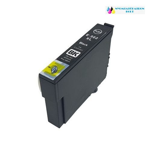 Epson T502XL (C13T02W14010) fekete utángyártott tintapatron