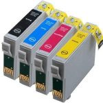 Epson T1301-1304 Szett utángyártott tintapatron csomag 4 db-os