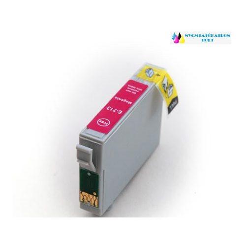 Epson T0713/893 magenta utángyártott tintapatron v6.0 chipes