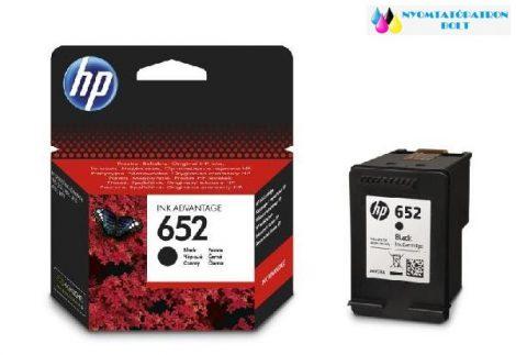 HP 652 fekete eredeti tintapatron F6V25AE