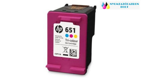 HP 651 COLOR (C2P11AE) utángyártott tintapatron