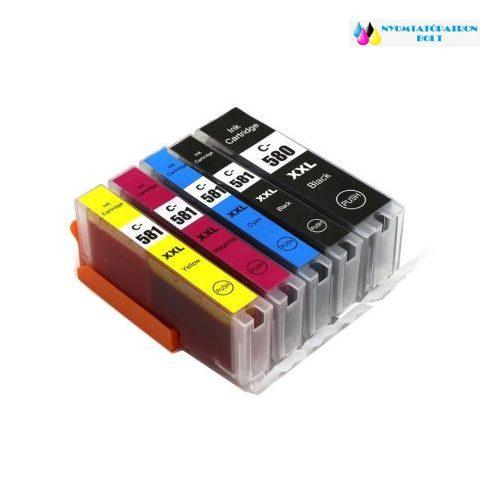 Canon PGI-580XXL, CLI-581XXL BCMY utángyártott tintapatron multipack 5 db-os