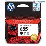 HP 655 CZ109AE fekete eredeti tintapatron