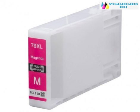 Epson T7893 utángyártott tintapatron magenta