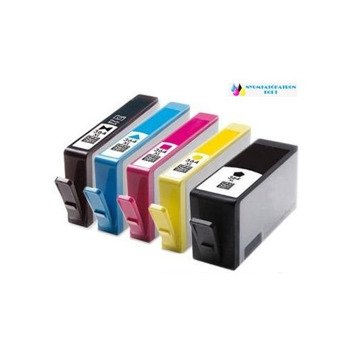 HP 364 XL cyán utángyártott tintapatron