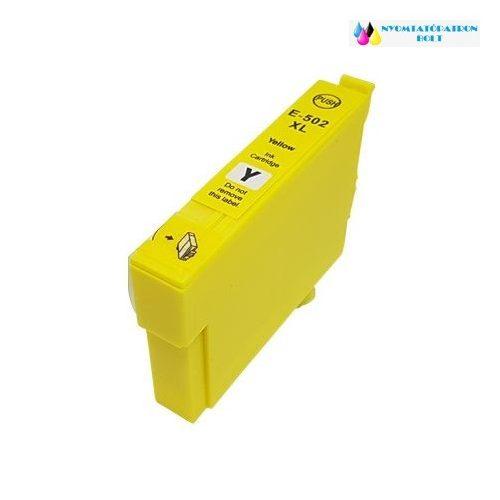 Epson T502XL (C13T02W44010) sárga utángyártott tintapatron