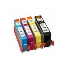HP 364 XL utángyártott tintapatron 4 db-os pack   HP CN684 (4 szín)
