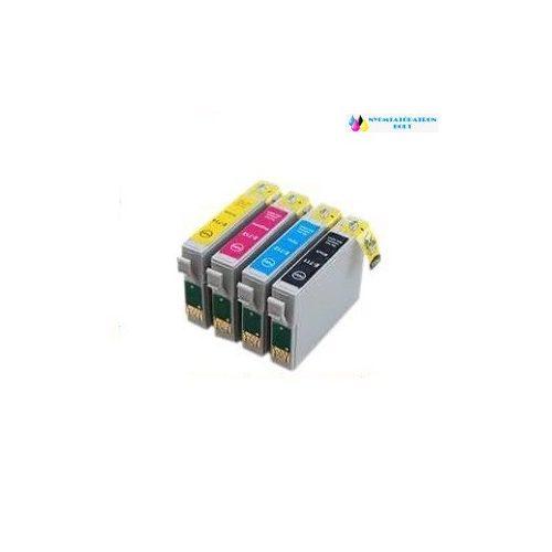 Epson T0715 utángyártott tintapatron multipack