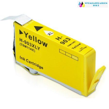 HP 903XL sárga (T6M011AE) utángyártott tintapatron