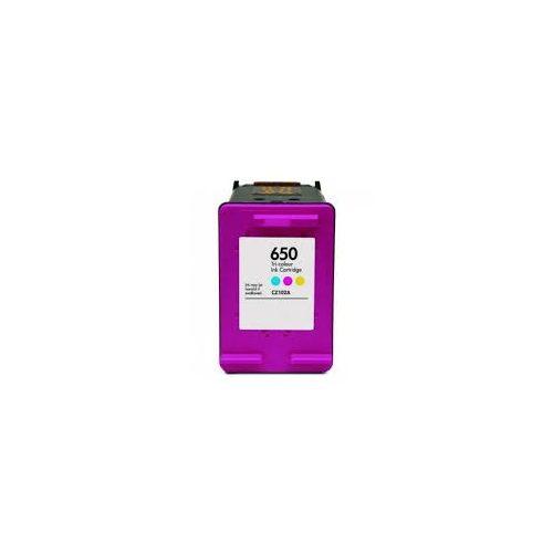 HP 650 (CZ102AE) CMY színes utángyártott tintapatron