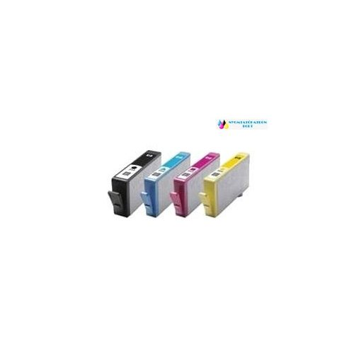 HP 655XL utángyártott tintapatron csomag   CZ109AE (4 szín)