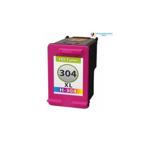 HP 304XL N9K07AE utángyártott tintapatron színes