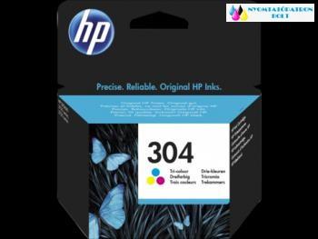 HP 304 színes eredeti tintapatron N9K05AE