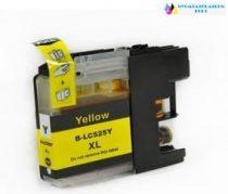 Brother LC 525 XL utángyártott tintapatron sárga