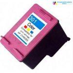 HP 301(CH562EE) utángyártott tintapatron színes
