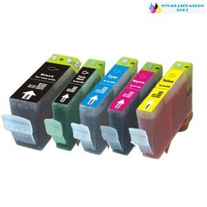 Canon PGI-5 Bk/BCI 3 BK fekete utángyártott tintapatron+chip
