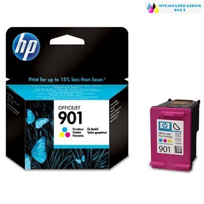 HP 901 CC656EE  szines eredeti tintapatron (CC656A)