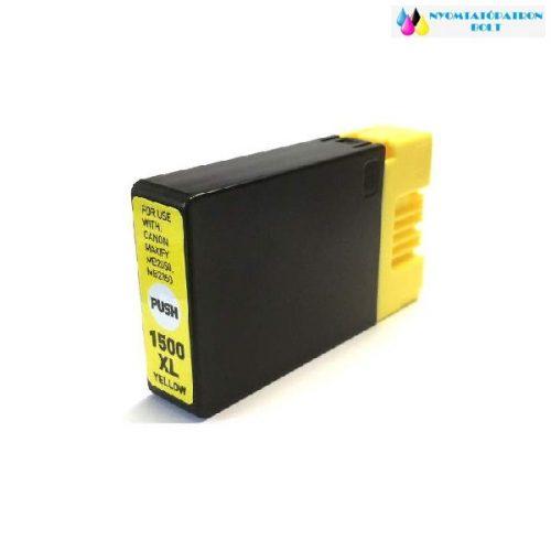 Canon PGI-1500XL sárga utángyártott tintapatron