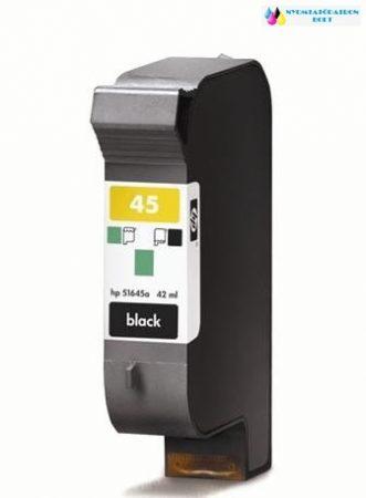 HP 45 (645)fekete utángyártott tintapatron