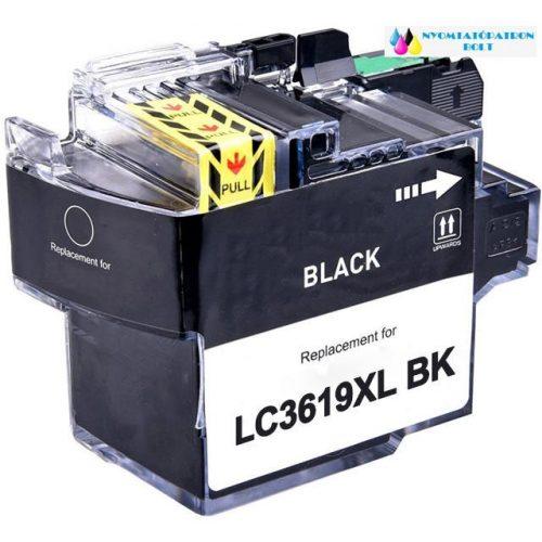 Brother LC 3619 [XL BK] utángyártott tintapatron fekete