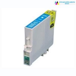 Epson T0712/892 cyán utángyártott tintapatron v6.0 chipes